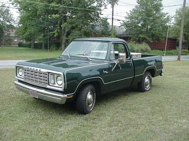78 Dodge Ram - Car Autos Gallery