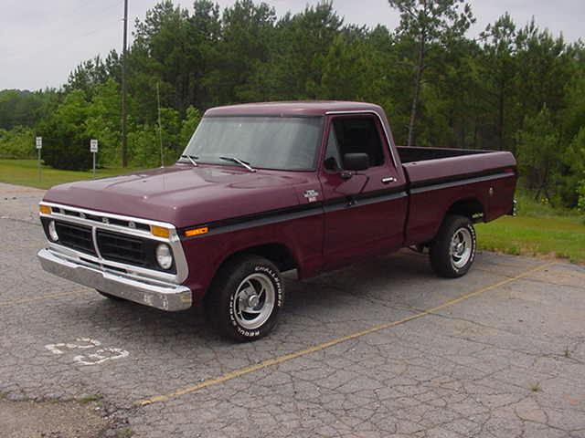 1977 Ford F100 Ranger Regular Cab Pick-up Truck 351 V8 - YouTube
